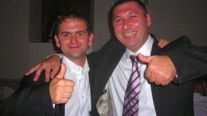 Poslanec Madej s talianskym mafiánom v objatí