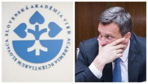 """Slovenská akadémia vied podporuje stanoviská univerzít v otázke Dankovej """"rigorózky"""""""