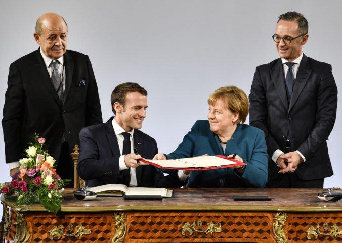 Nemecko a Francúzsko sa zaviazali k užšej spolupráci zmluvou, Slovenská republika to víta
