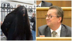 """Glváč posielal obvinenej Alene Zs. selfie z parlamentu, tá si ho v mobile uložila ako """"maznák"""""""