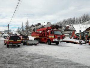 Dobrovoľní hasiči pomôžu obciam na severe Slovenska pri odstraňovaní následkov snehovej kalamity