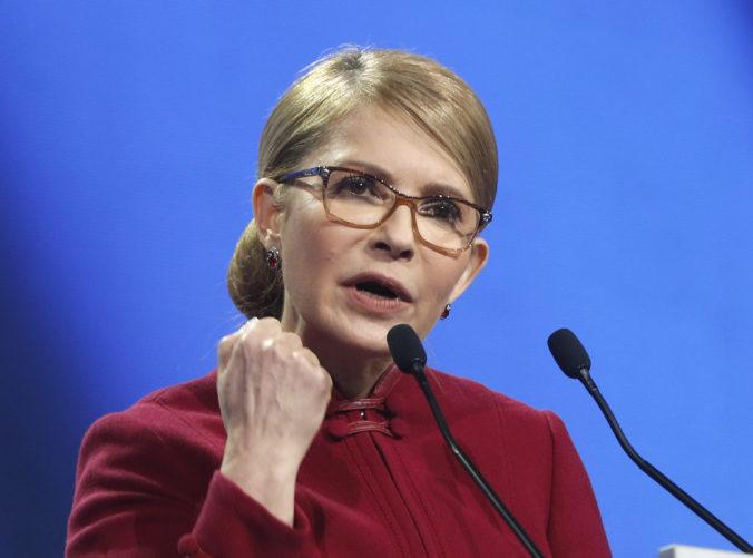 Ukrajinská expremiérka Tymošenková potvrdila svoju kandidatúru v prezidentských voľbách