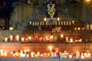 Foto: Na zhromaždení Za slušné Slovensko v Banskej Bystrici prečítali aj list matky zavraždenej Martiny