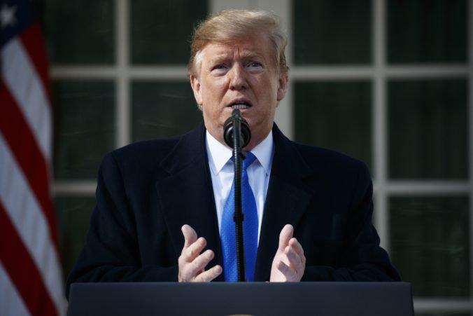 Prezident Donald Trump vyhlásil v Spojených štátoch výnimočný stav