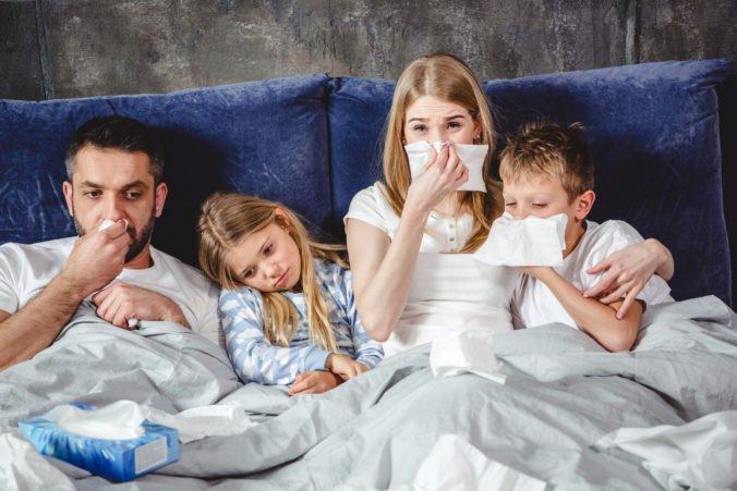 Na Slovensku stúpla chorobnosť na chrípku o viac ako 13 percent