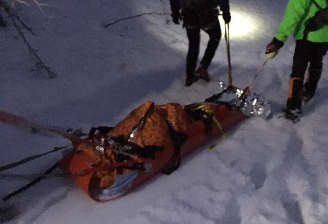 Foto: Turista sa pri zostupe do Belianskej doliny pošmykol, pri páde zahynul