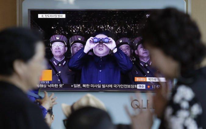 Severná Kórea má novú zbraň, test sledoval aj vodca  Kim Čong-un