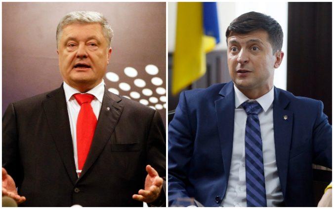 Porošenko alebo Zelenskyj, Ukrajinci rozhodujú o svojom prezidentovi
