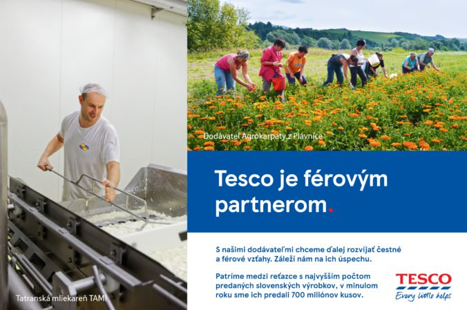 Tesco je férovým partnerom