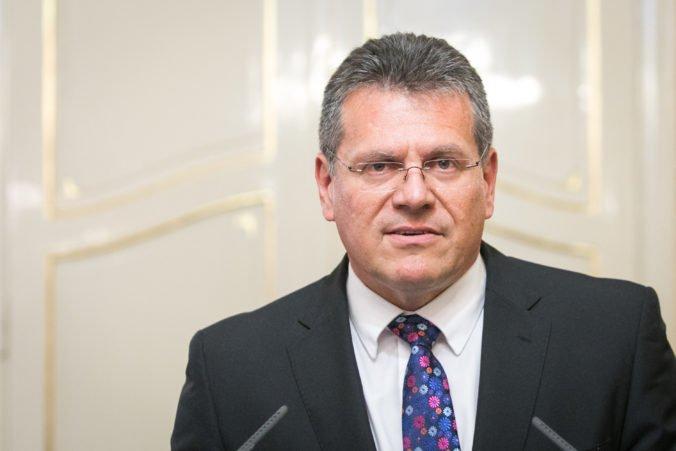 Maroš Šefčovič dúfa vo vyššiu volebnú účasť ako naposledy, zaujíma ho aj vplyv euroskeptikov