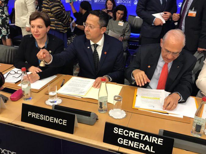 Slovensko prvýkrát predsedá v Rade OECD