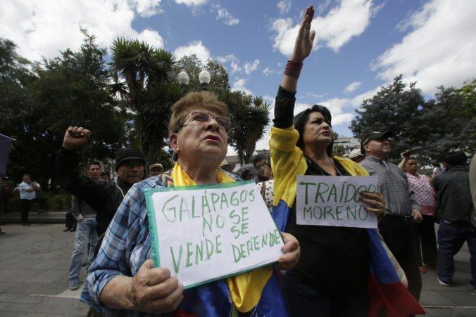 Americké vojenské lietadla budú využívať letisko na Galapágoch, povolil Ekvádor
