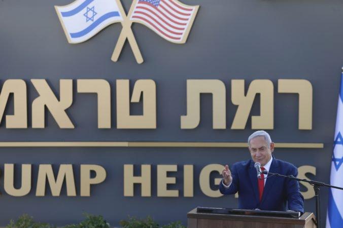 Video: Osadu v Golanských výšinách pomenovali po Trumpovi, Netanjahu ho nazval priateľom Izraela