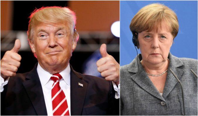 Trumpove vyjadrenia voči kongresmankám protirečia sile Ameriky, kritizuje Merkelová