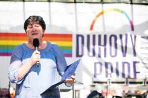 Na Slovensku zatiaľ nie sme všetci rovní v právach, vyhlásila Patakyová na Dúhovom pochode