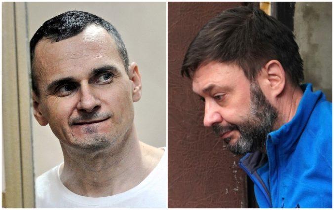 Zelenský je ochotný vymeniť väzneného ruského novinára za ukrajinského režiséra Sencova