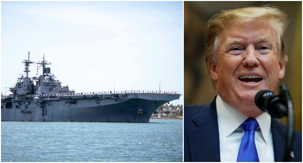 Američania zneškodnili iránsky dron, Trump následne obvinil Teherán z provokatívnej akcie