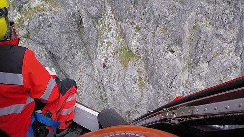 Foto: Turista prežil približne 20-metrový pád vo Vysokých Tatrách