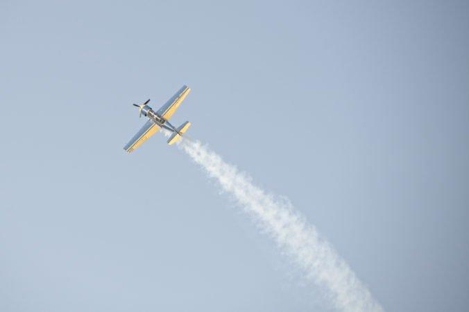 Foto: Košické letecké dni zlomili rekord, zlatým klincom bolo predstavenie Retro Sky Team