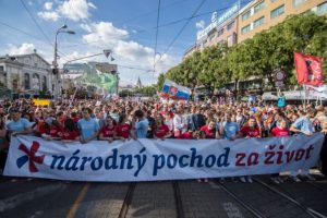 Národný pochod za život: Organizátori chcú upozorniť na ochranu života od počatia a na pomoc ženám