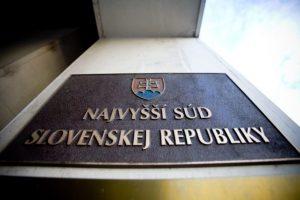 Zverejnili termín opakovanej voľby nového predsedu najvyššieho súdu