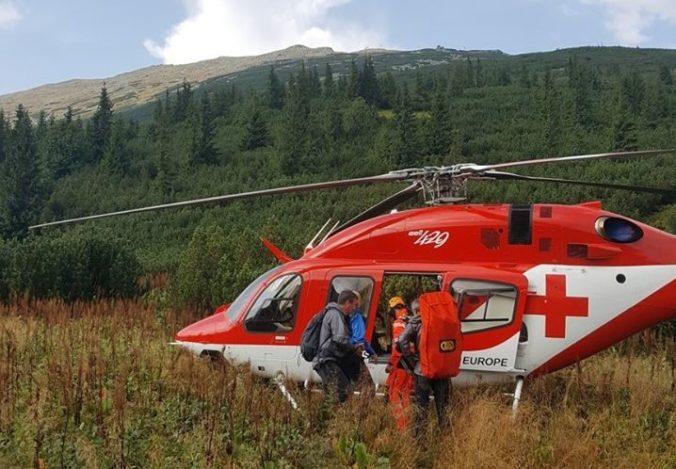 Záchranári vo Vysokých Tatrách ratovali podchladeného českého turistu