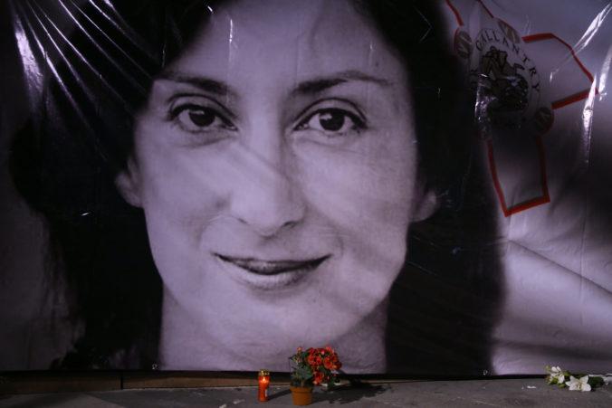 Zadržali muža, ktorý má údajne informácie o objednávateľovi vraždy novinárky na Malte