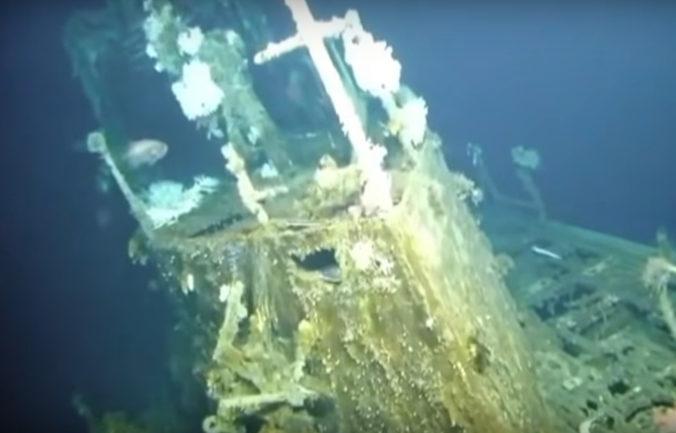 Video: Pri ostrove Okinava našli vojnovú ponorku, 80-členná posádka zmizla pred 75 rokmi