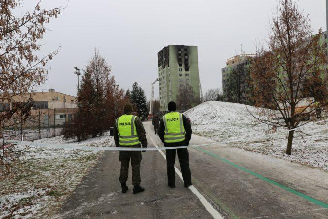 Polícia v súvislosti s výbuchom plynu v prešovskej bytovke zadržala podozrivé osoby