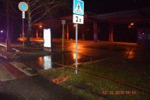 Hľadajú šoféra, ktorý zrazil ženu na priechode pre chodcov a ušiel (foto)