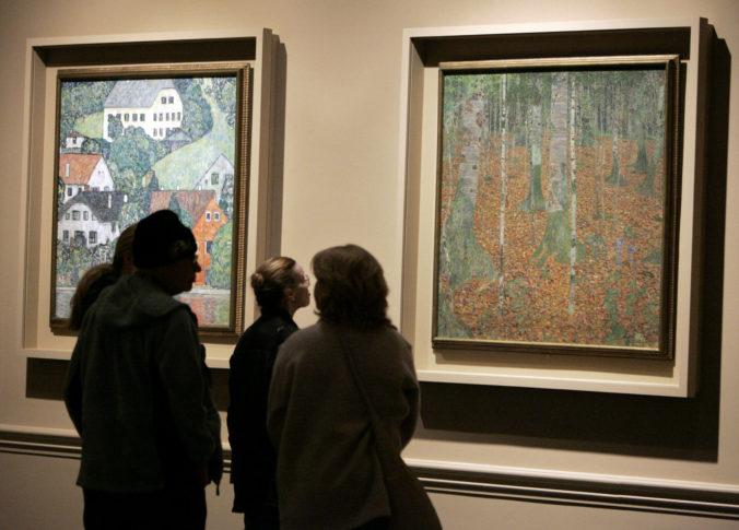 Záhradník zrejme našiel obraz Gustava Klimta, Portrét dámy ukradli z galérie v roku 1997