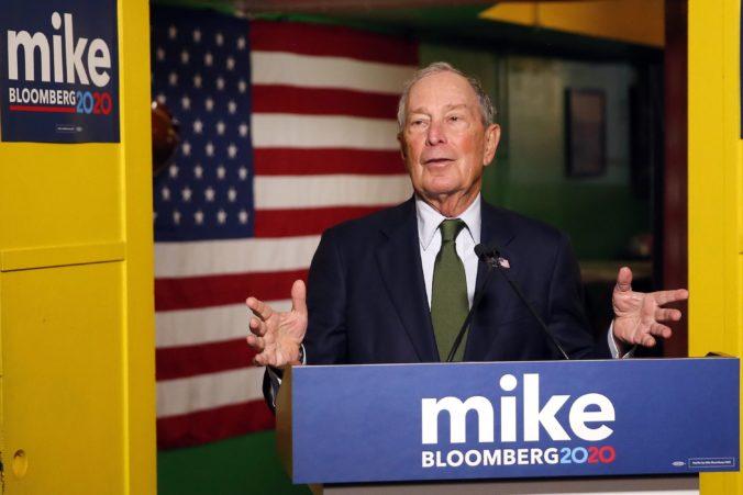 Bloomberg predstavil svoju hlavnú programovú prioritu v amerických prezidentských voľbách