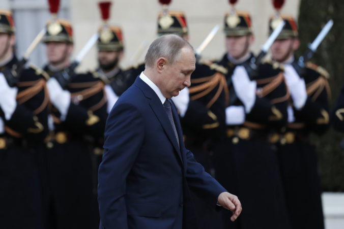 Putin a Zelenskyj sa stretli v Paríži na rokovaniach o ukončení konfliktu na východe Ukrajiny