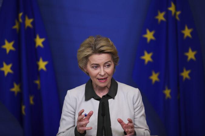 Von der Leyen chce pomôcť členským krajinám so znížením emisií, komisia vyčlení sto miliárd eur