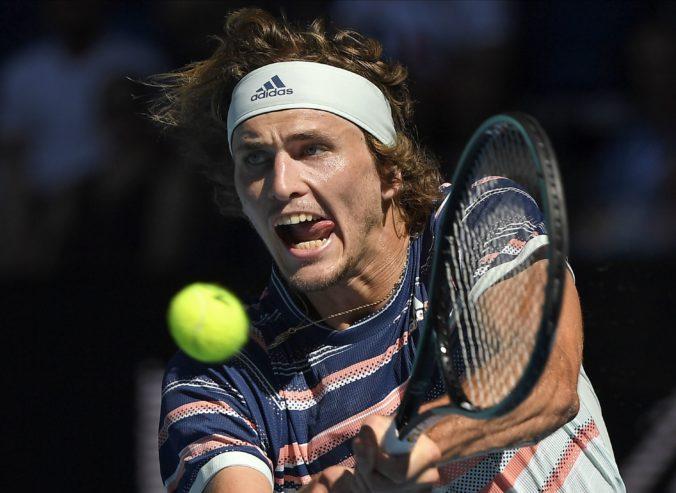 Zverev vo štvrťfinále Australian Open vyradil Wawrinku, Nadal hrá proti Thiemovi (video)