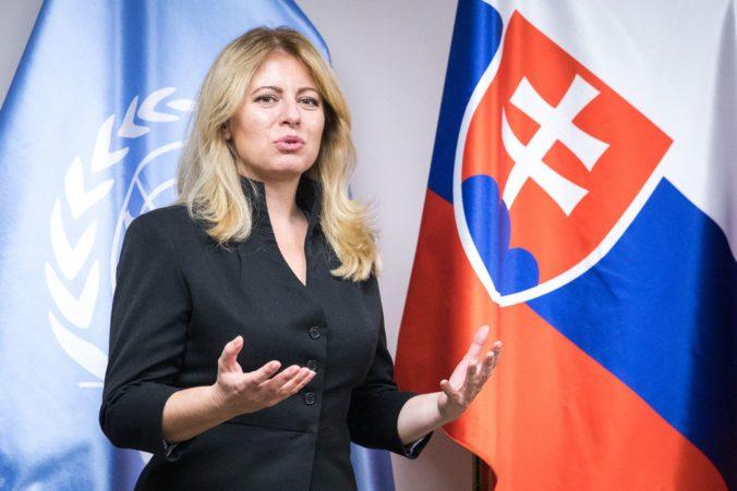 Prezidentka Čaputová poslala prezidentovi Zemanovi po tragickom požiari sústrastný telegram