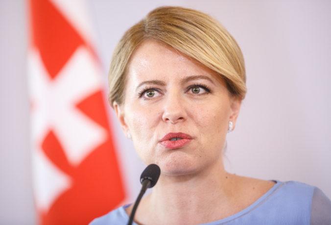 Prezidentka Čaputová nevylučuje úradnícku vládu, po voľbách pozve na rokovanie možno aj Kotlebu