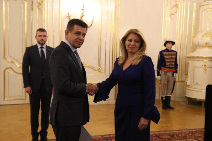 Prezidentka Čaputová prijala demisiu Sólymosa, životné prostredie dočasne povedie Érsek