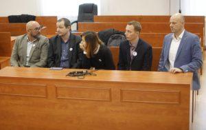 Súd v kauze vraždy Kuciaka (5. deň): Kočner na pojednávanie neprišiel, vypovedajú aj novinári (foto)