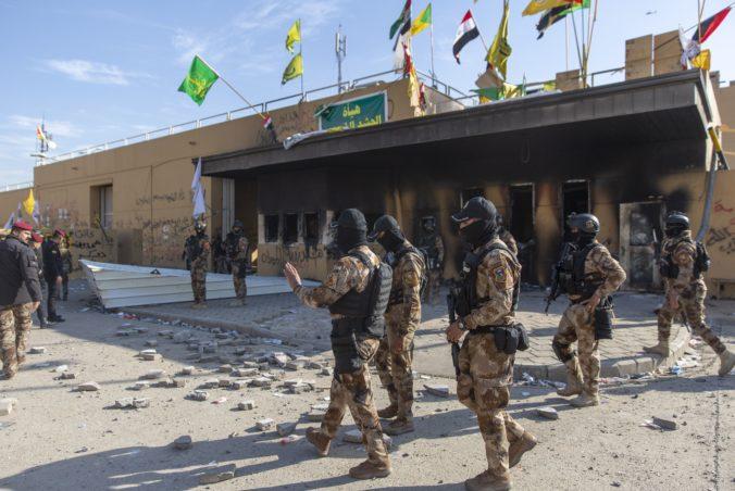 Veľvyslanectvo USA v Bagdade zasiahli rakety, Američania hovoria o iránskych hrozbách