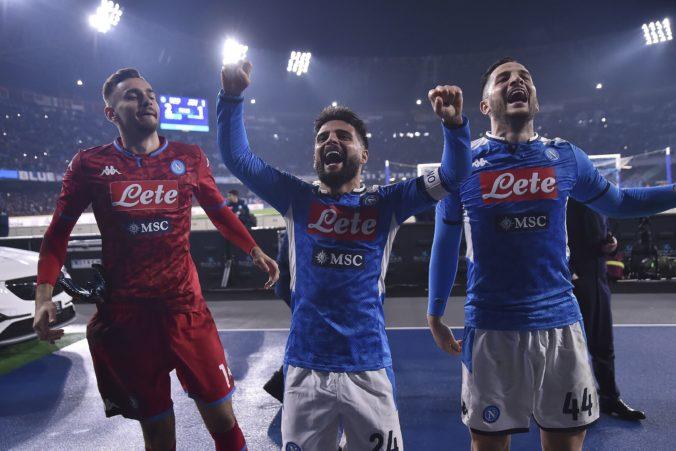 Neapol s Lobotkom v zostave porazil Juventus, Škriniar odohral iba 17 minút a Kucka celý zápas (video)