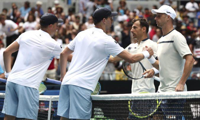 Polášek si zahrá štvrťfinále Australian Open, s Dodigom vyradili legendárnych Bryanovcov