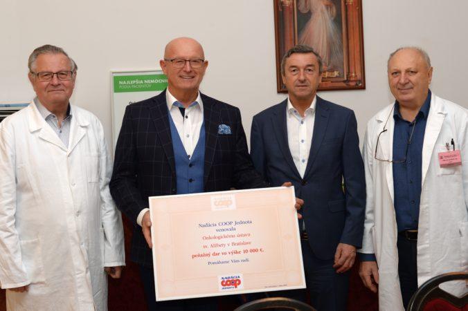 Nadácia COOP Jednota podporila v roku 2019  zdravotníctvo a lokálne komunity sumou štvrť milióna eur