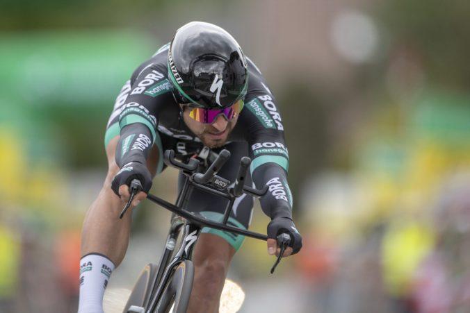 Peter Sagan nemal na pretekoch Vuelta a San Juan svoj deň a v časovke šetril sily (video)