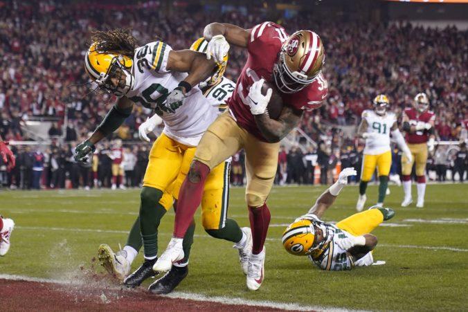 Kansas a San Francisco sa pobijú o Super Bowl, Mostert prepísal históriu play-off NFL