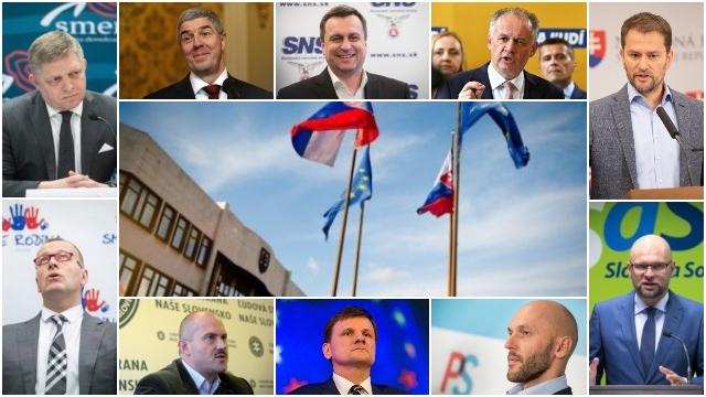 Voľby by vyhral Smer-SD pred ĽSNS, Sas, KDH a SNS sú nad hranicou zvoliteľnosti