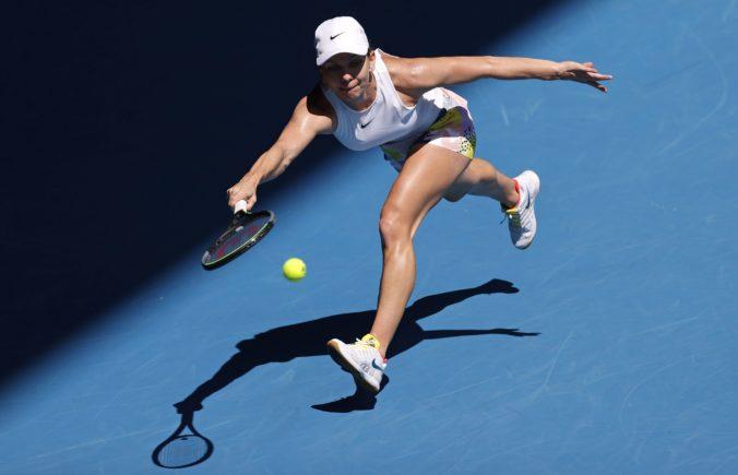 Halepová stratila vo štvrťfinále Australian Open iba dva gemy, do semifinále prešla aj Muguruzová (video)