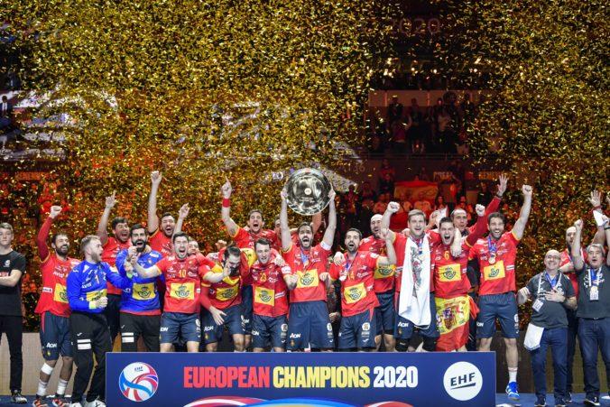 Španieli na ME v hádzanej obhájili titul, Chorváti záver finále nezvládli (video)