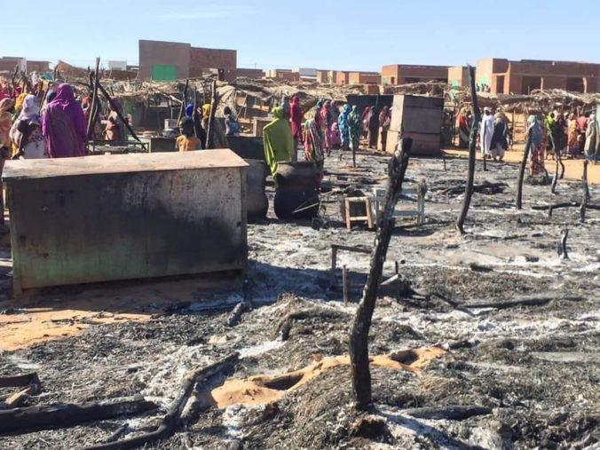 Nepokoje vyhnali zo Sudánu do Čadu za uplynulý mesiac podľa OSN viac než jedenásťtisíc ľudí