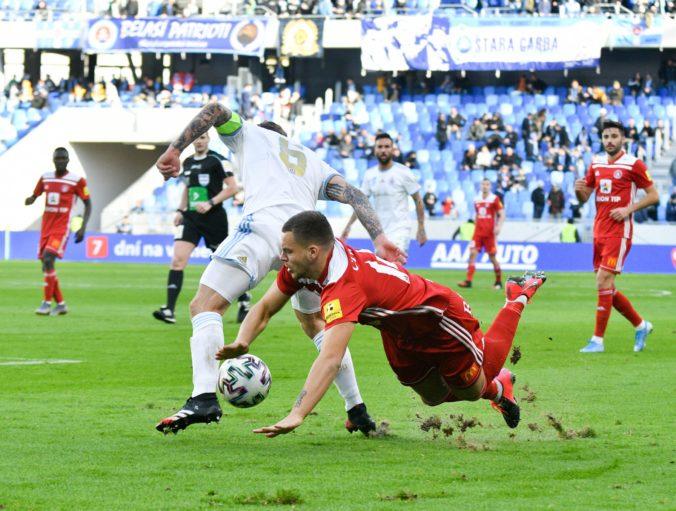Slovan triumfoval vo Fortuna lige, Dunajská Streda bez gólu a Michalovce zdolali Nitru